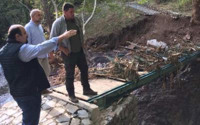 Επίσκεψη Χρ. Τριαντόπουλου στους νομούς Καρδίτσας, Μαγνησίας και Φθιώτιδας για τον συντονισμό στήριξης στους πλημμυροπαθείς