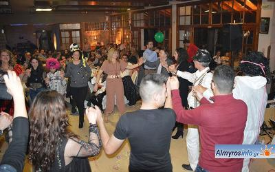Ο αποκριάτικος χορός του Πολιτιστικού Ευξεινούπολης (φωτο&βίντεο)