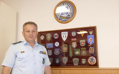 Aποστρατεύτηκε ο Γενικός Διευθυντής Αστυνομίας Θεσσαλίας Υποστράτηγος Β. Καραπιπέρης