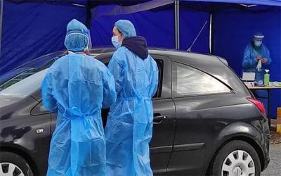 Δύο θετικά κρούσματα σε 30 rapid tests στον Αλμυρό