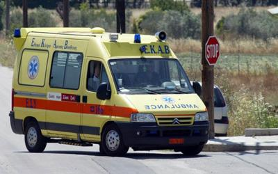 Κριθαριά: 50χρονος τραυματίστηκε από πτώση βράχου στην καμπίνα του JCB που οδηγούσε