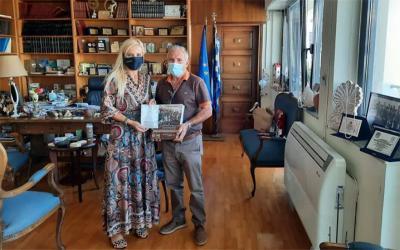"""Συνάντηση Κολυνδρίνη – Κίτσιου με αφορμή τα 100 χρόνια του Συνεταιρισμού """"Η Δήμητρα"""""""