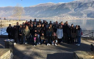 Πενθήμερη εκπαιδευτική εκδρομή  της Γ' τάξης του 1ου ΕΠΑΛ Αλμυρού στα Ιωάννινα