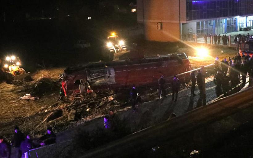 Στους 14 οι νεκροί από ανατροπή λεωφορείου έξω από τα Σκόπια