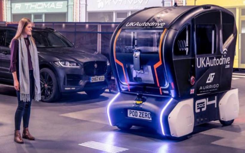 H Jaguar Land Rover φωτίζει τον δρόμο για τα αυτόνομα οχήματα