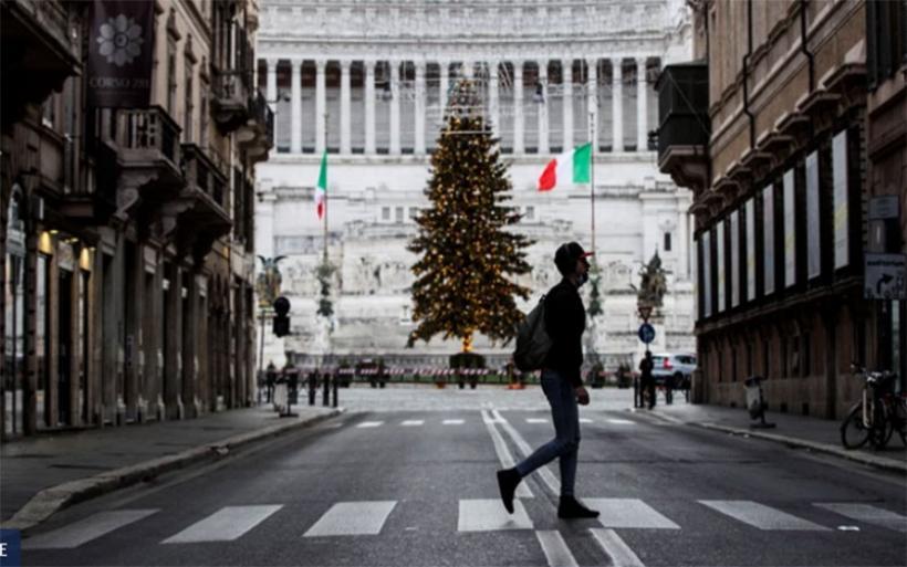 Ιταλία: Η μάσκα παύει να είναι υποχρεωτική σε εξωτερικούς χώρους από 28 Ιουνίου