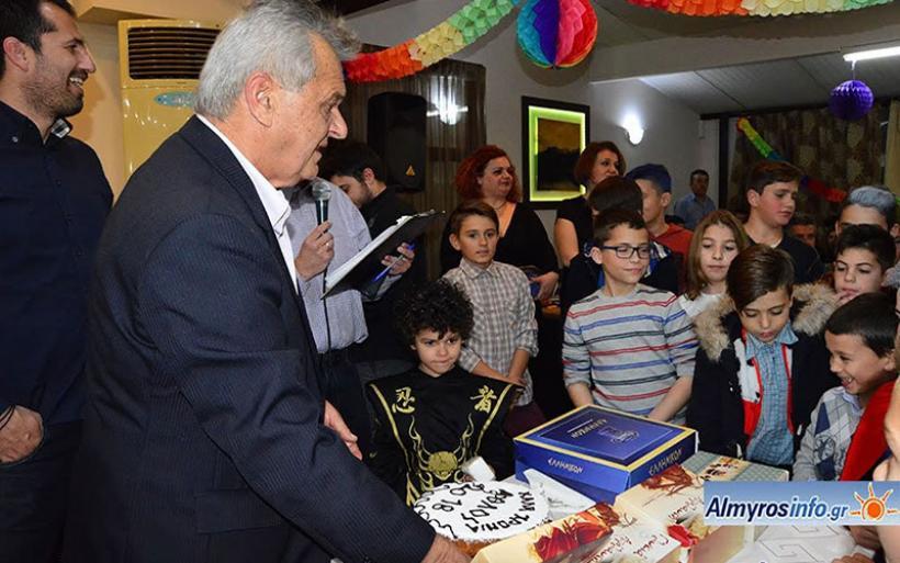 Με επιτυχία η εκδήλωση για την κοπή πίτας του Α.Μ.Σ. Άθλου Αλμυρού (φωτο)