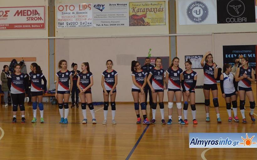 Νίκη για την ομάδα βόλεϊ γυναικών Γ.Σ.Α. 3-0 τα Φάρσαλα (φωτογραφίες)