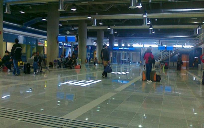 Επιθεώρηση αεροδρομίου Ν. Αγχιάλου από τον Γ.Γ. Πολιτικής Προστασίας Β. Παπαγεωργίου