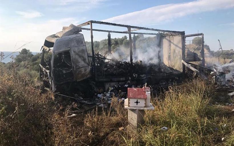 Τραγωδία στην Καβάλα: 11 μετανάστες απανθρακώθηκαν μετά από σύγκρουση ΙΧ με φορτηγό