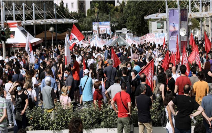 Σε απεργιακό κλοιό η χώρα για το νέο εργασιακό -Σε εξέλιξη οι συγκεντρώσεις στο κέντρο της Αθήνας