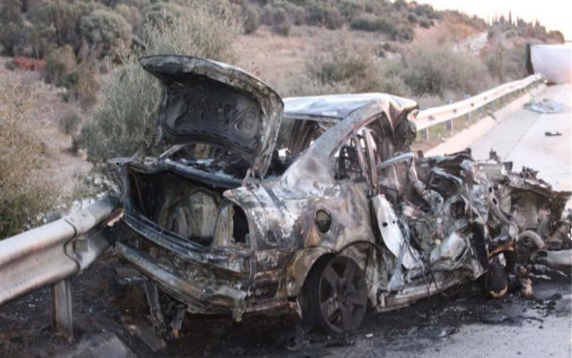 Τραγωδία στην Εγνατία Οδό: 3 άνθρωποι κάηκαν ζωντανοί σε τροχαίο - 3 τραυματίες