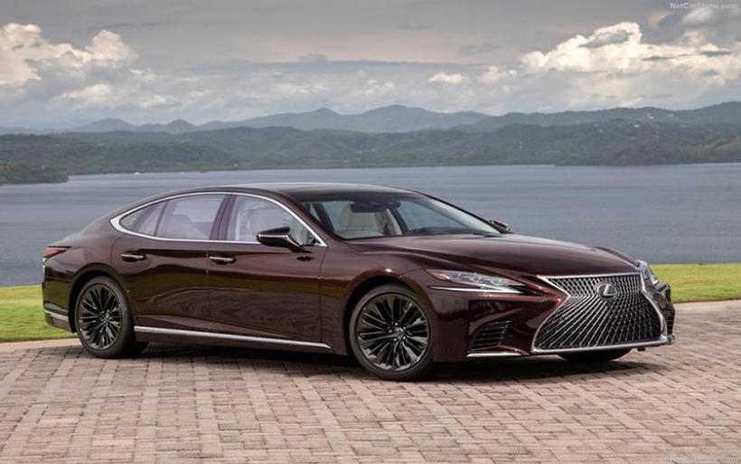 Η Lexus LS 500 Inspiration Series αναβαθμίζει την αισθητική της