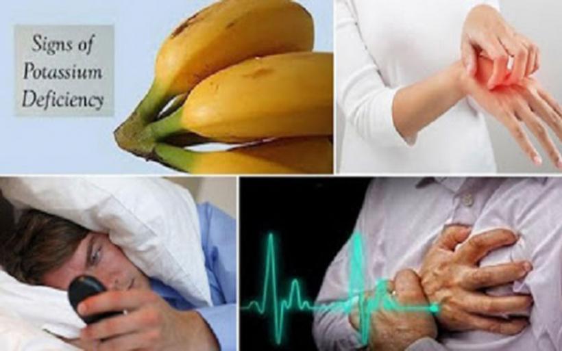 Η Υποκαλιαιμία προκαλεί κούραση, κράμπες, αρρυθμίες, υπέρταση