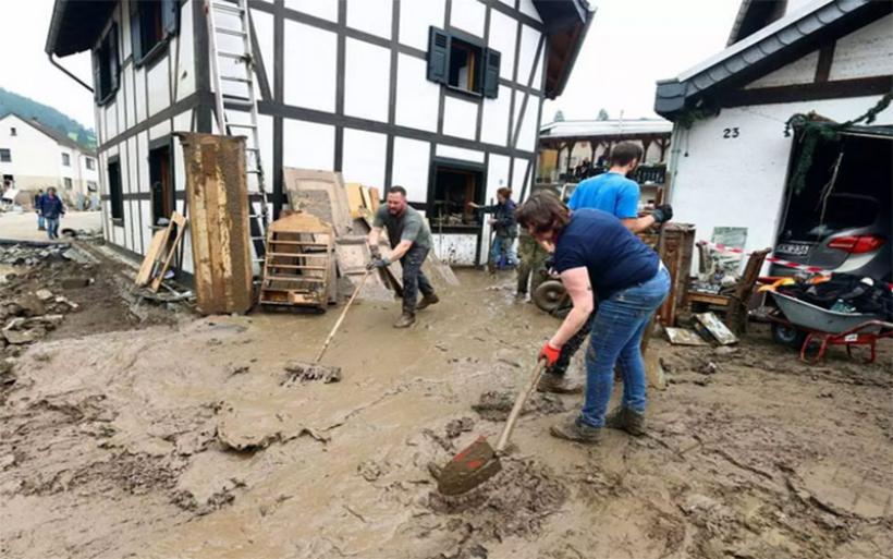 Γερμανία: Έκτακτη βοήθεια 400 εκατομμυρίων ευρώ για τους πληγέντες από τις καταστροφικές πλημμύρες
