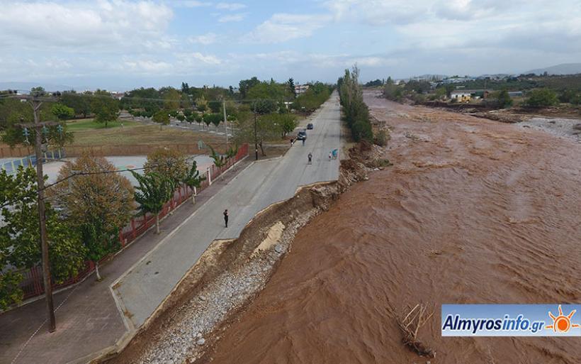 Αρχίζουν τα έργα αποκατάστασης των καταστροφών από τον «Ιανό»