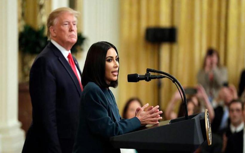 Kim Kardashian: Κομψή εμφάνιση στον Λευκό Οίκο!