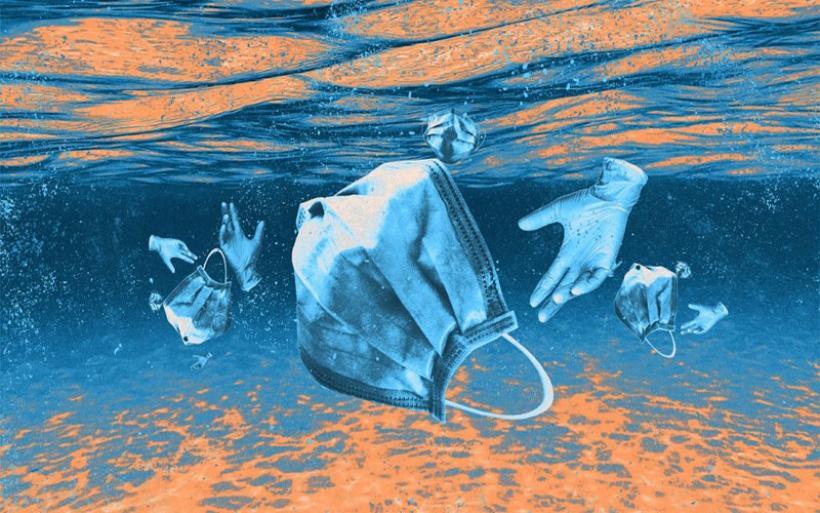 Μάσκες: Νέα πληγή για τις θάλασσες – Πώς καταστρέφουν το περιβάλλον
