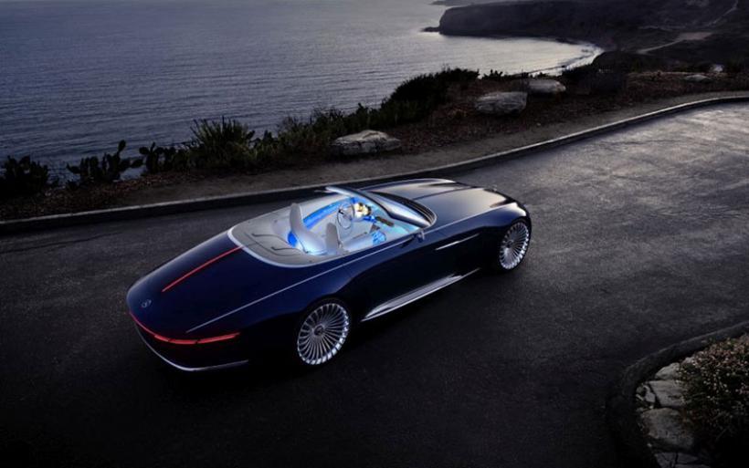 Μαγεύει το Vision Mercedes-Maybach 6 Cabriolet