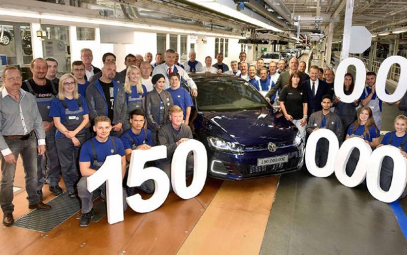 H VW έφτασε τα 150.000.000 αυτοκίνητα