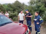 Απείλησε σπίτια και έκαψε δασική έκταση η πυρκαγιά στη Βρύναινα (βίντεο&φωτο)