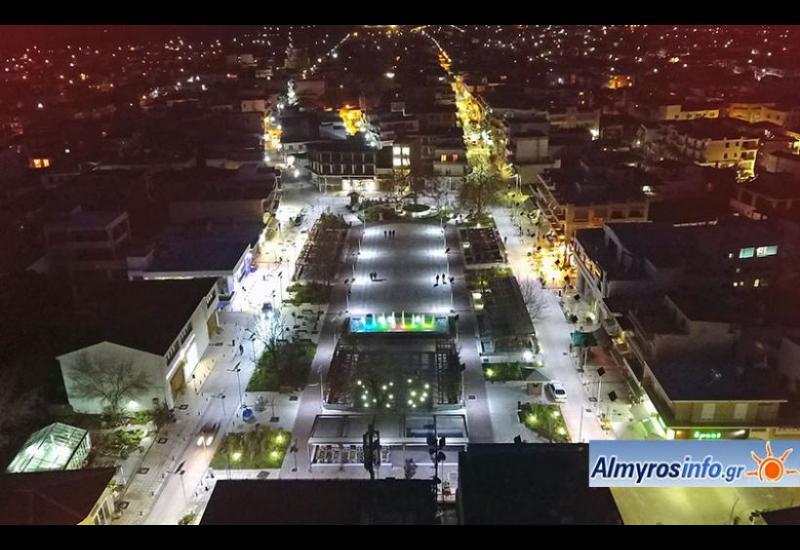 Προσωρινός καθορισμός πεζοδρόμων στο κέντρο της πόλης του Αλμυρού