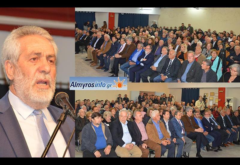 """Δημ. Εσερίδης: """"Aφετηρία μιας νέας εκλογικής νίκης"""" -Η εκδήλωση του συνδυασμού του δημάρχου (βίντεο&φωτο)"""