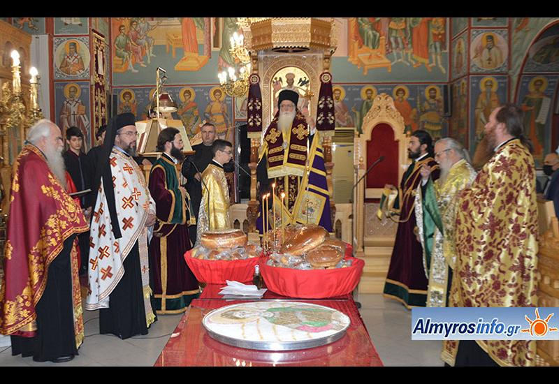 Τη μνήμη του Πολιούχου Αγίου Δημητρίου τίμησε η πόλη του Αλμυρού (βίντεο&φωτο)