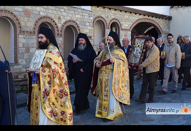 Λαμπρή η Κυριακή της Ορθοδοξίας στην Ιερά Μονή Άνω Ξενιάς (βίντεο&φωτο)
