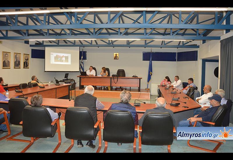Ενημερωτική εκδήλωση στον Αλμυρό για την αφρικανική πανώλη των χοίρων (βίντεο&φωτο)