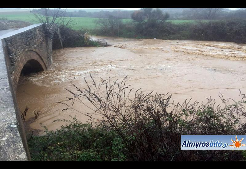 Μαγνησία: Ανυπολόγιστη καταστροφή από την πρωτοφανή νεροποντή για 12 ώρες